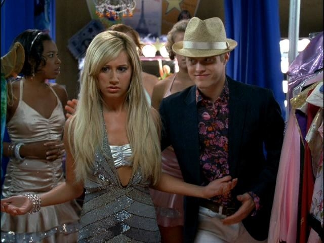 Sharpay being a prima donna at the country club resort