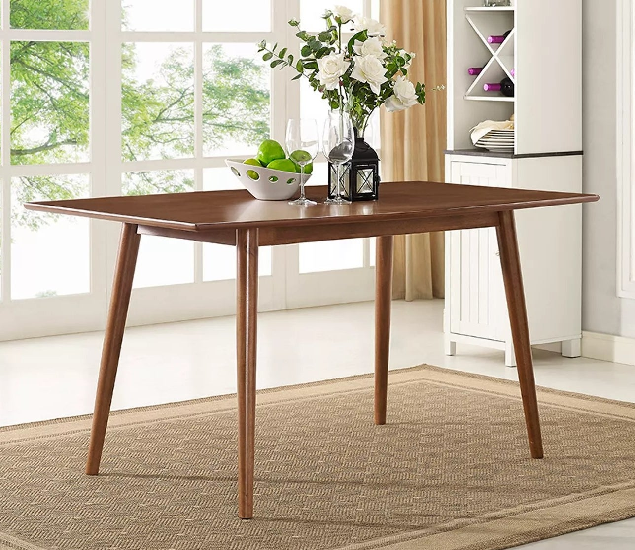 The mid-century dining table