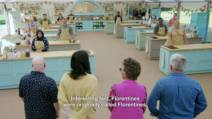 "Noel says ""Interesting fact, Florentines were originally called Florentines."""