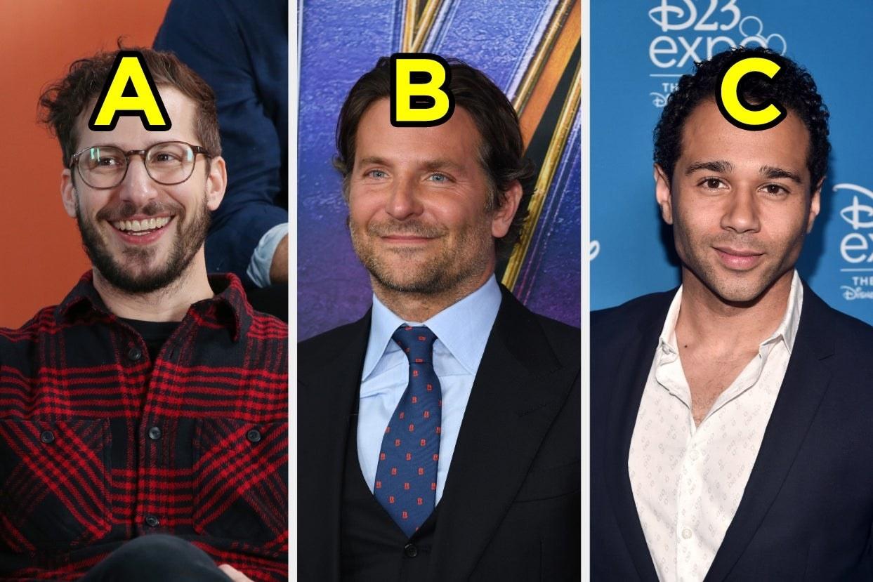 Andy Samberg, Bradley Cooper, and Corbin Bleu