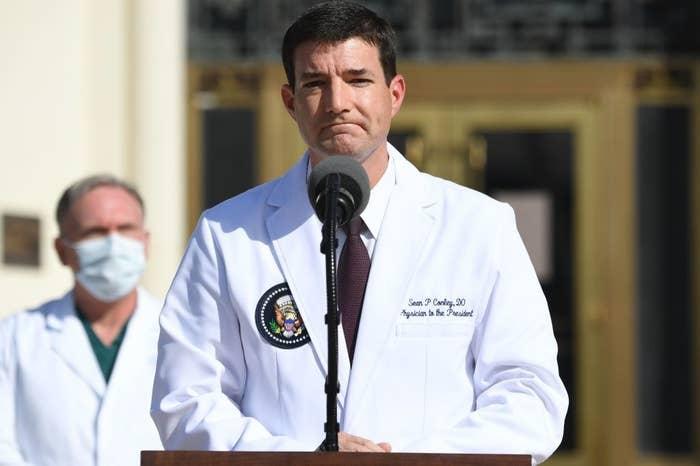 Dr. Conley, Trump's doctor