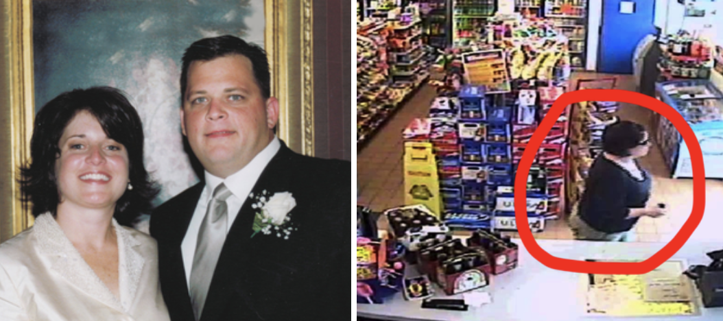 Diane Schuler's wedding photos + CCTV footage of her at a gas station