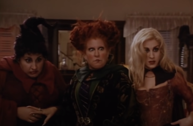 The Sanderson Sisters in
