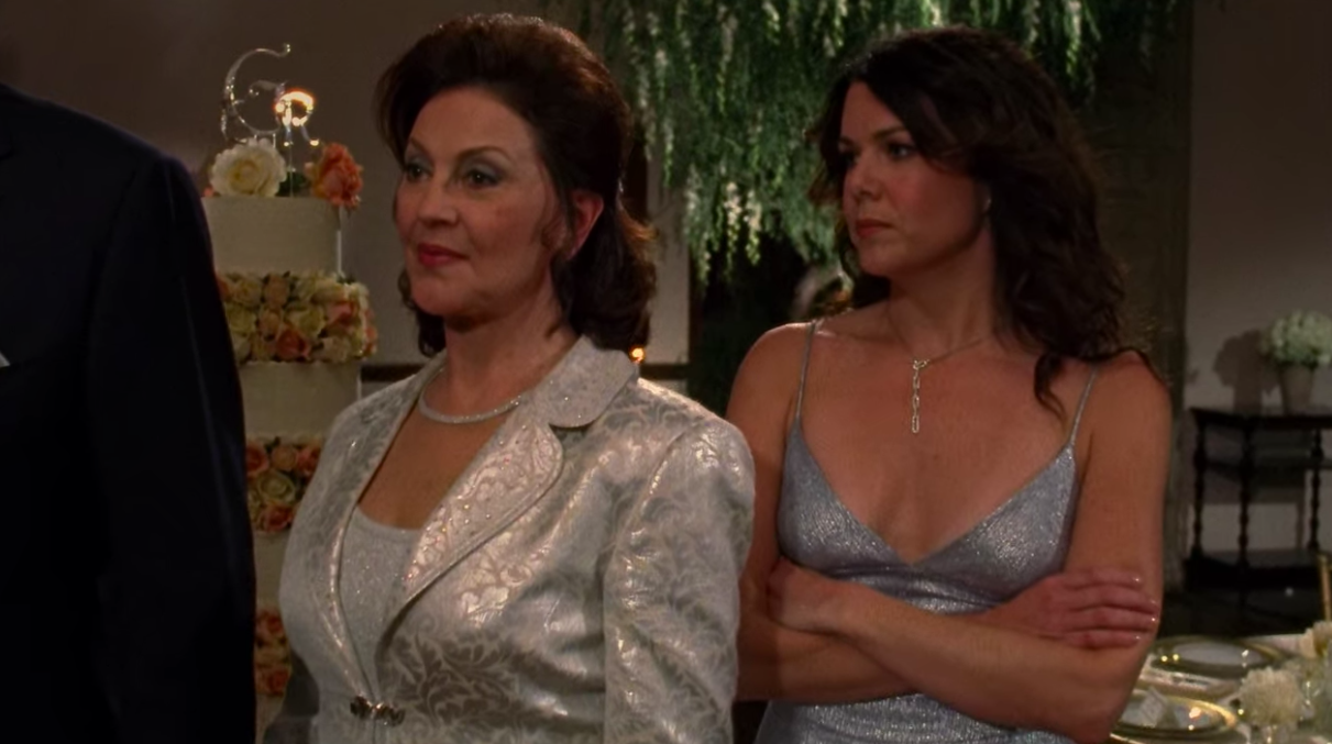 Lorelai tells Emily they're done