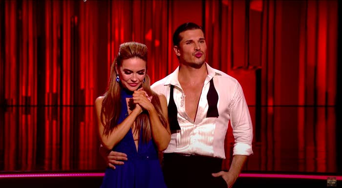 A team on Dancing with the Stars
