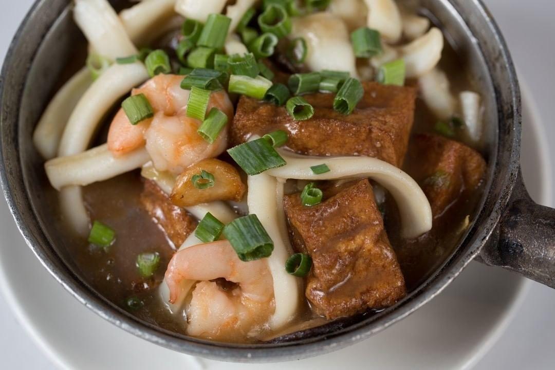 A seafood pot