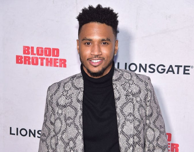 """Trey Songz attends the """"Blood Brother"""" New York Screening"""