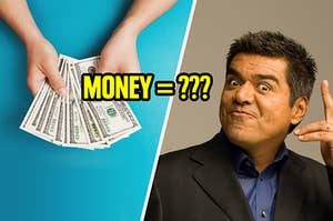 George Lopez wondering if you know how to say money in spanish