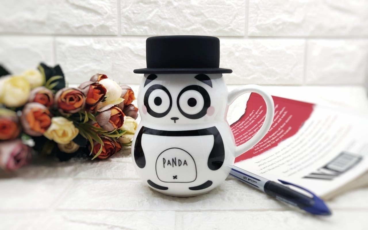 A panda mug