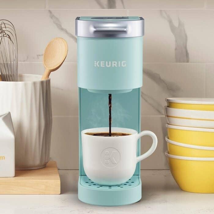 The Keurig coffee maker