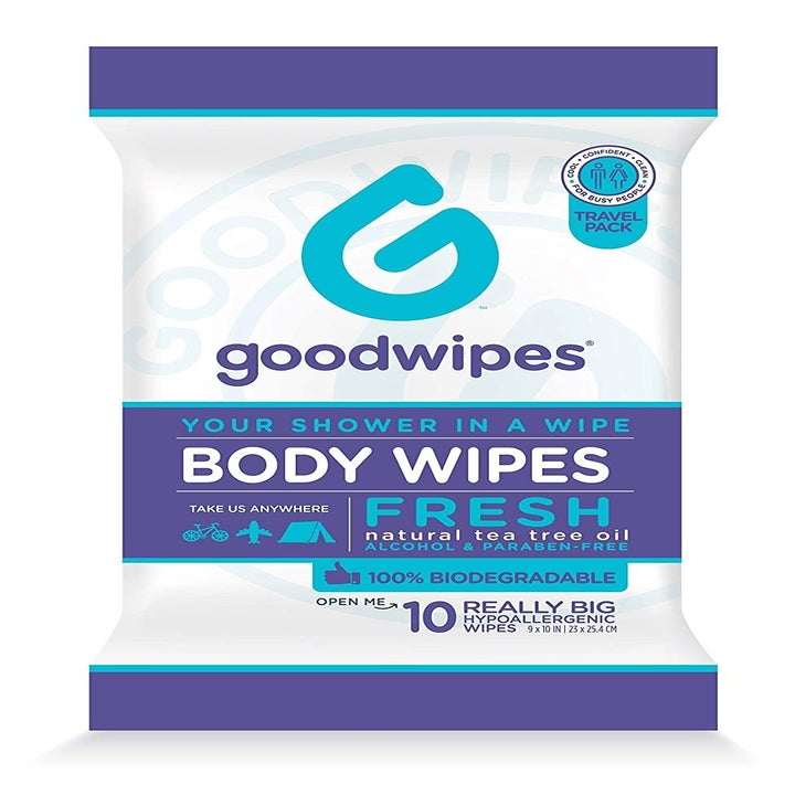 Goodwipes Body Wipes outer packaging