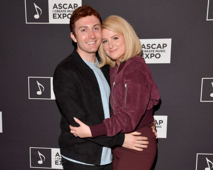 """Daryl Sabara and Meghan Trainor attend the 'Watch Them Do"""" panel"""