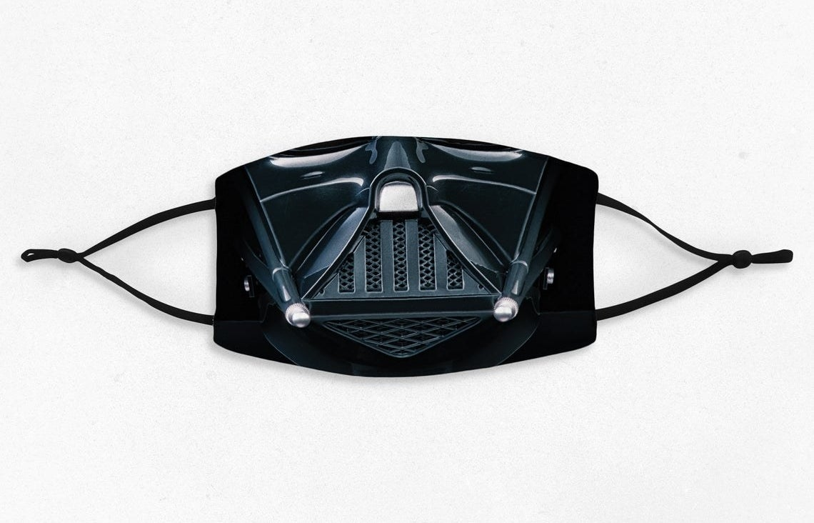 Darth Vader mask in black