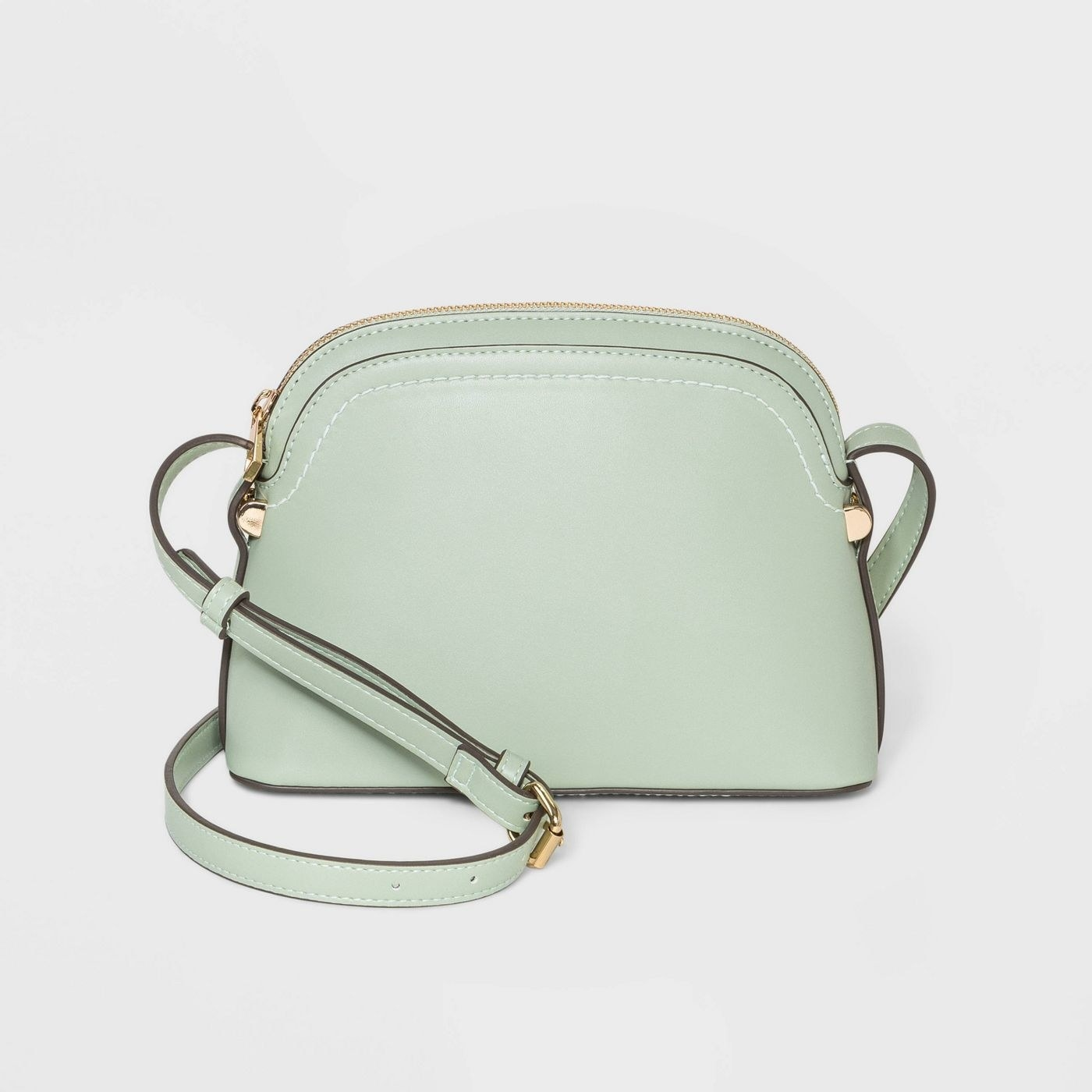 The crossbody bag in mint green