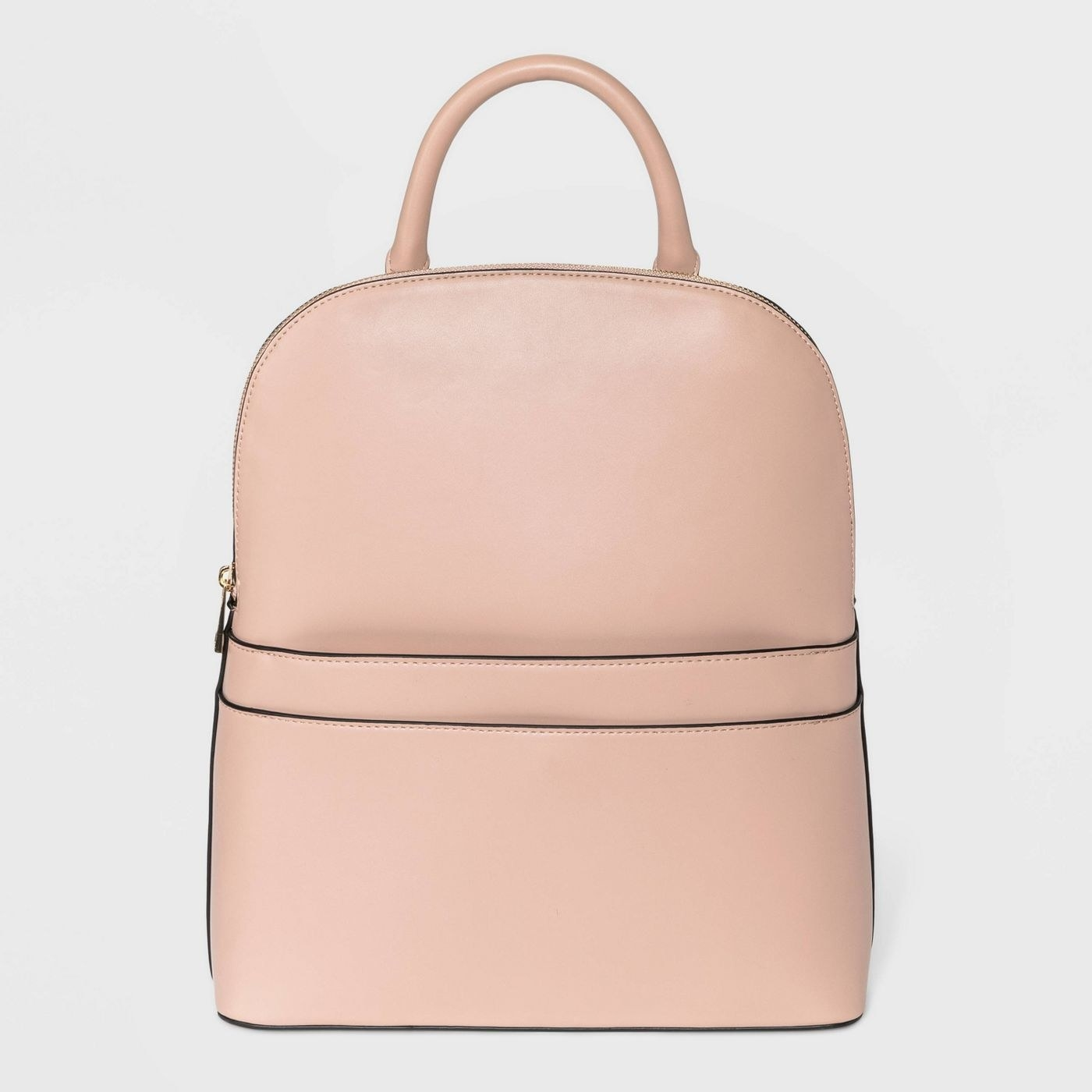 The backpack in pink