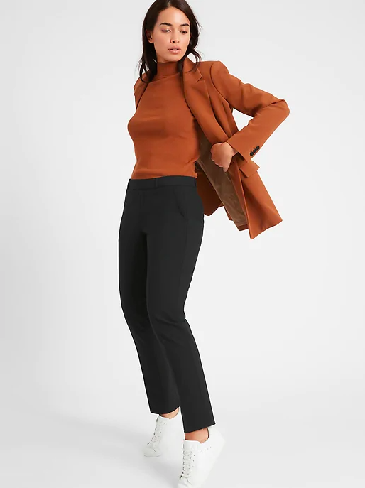 a model wearing the pants