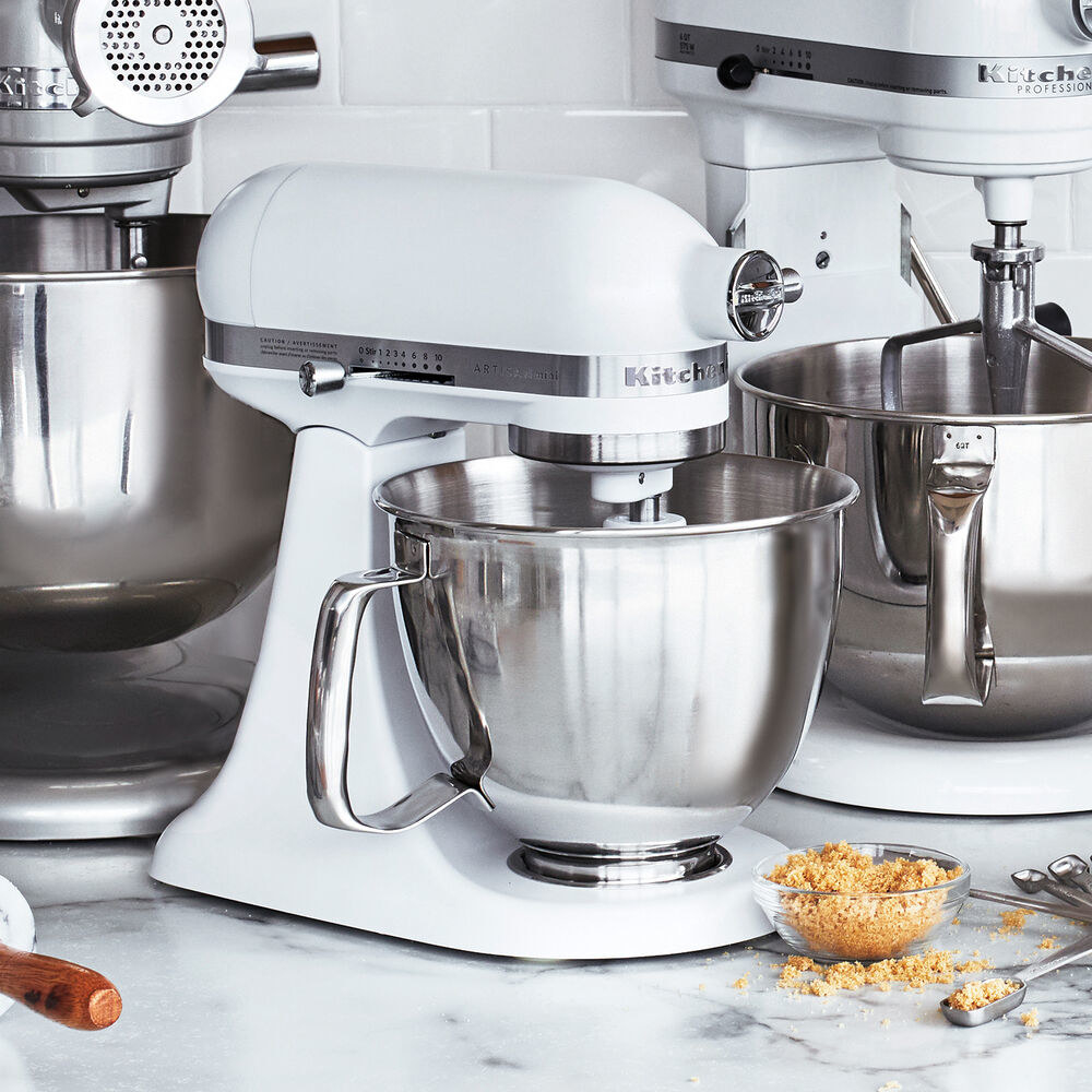 KitchenAid Artisan stand mixer in white