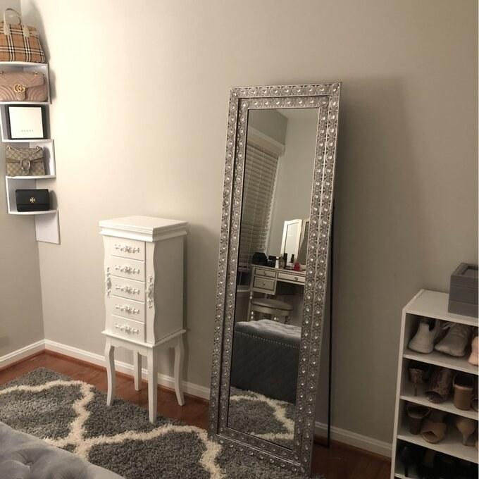 The full-length mirror