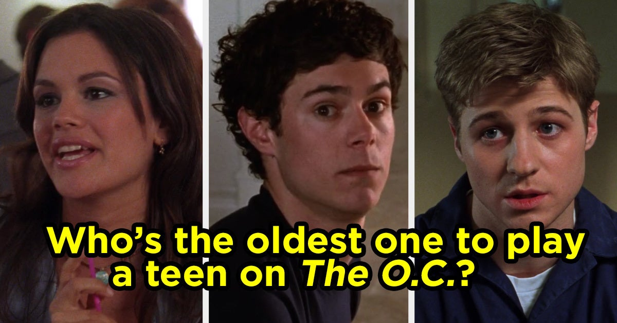 I Bet You Can't Guess Who Was The Oldest Actor To Play A Teen On These Shows