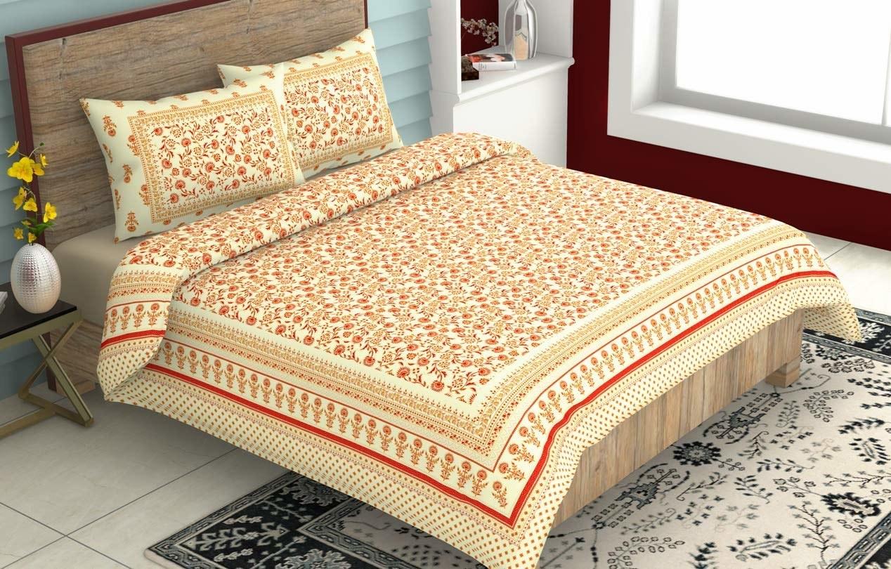 A Rajasthani bedsheet
