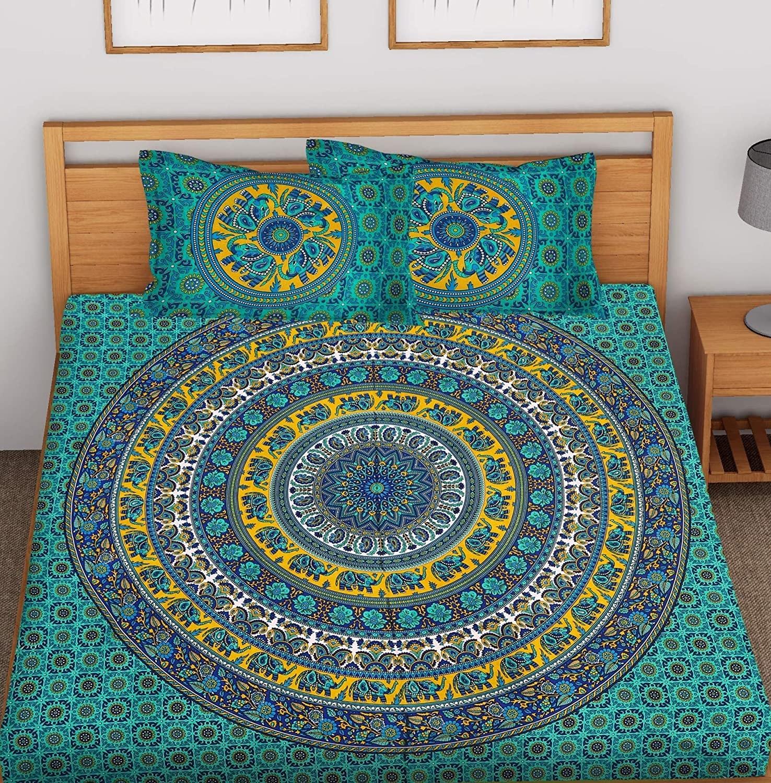 A Mandala bedsheet