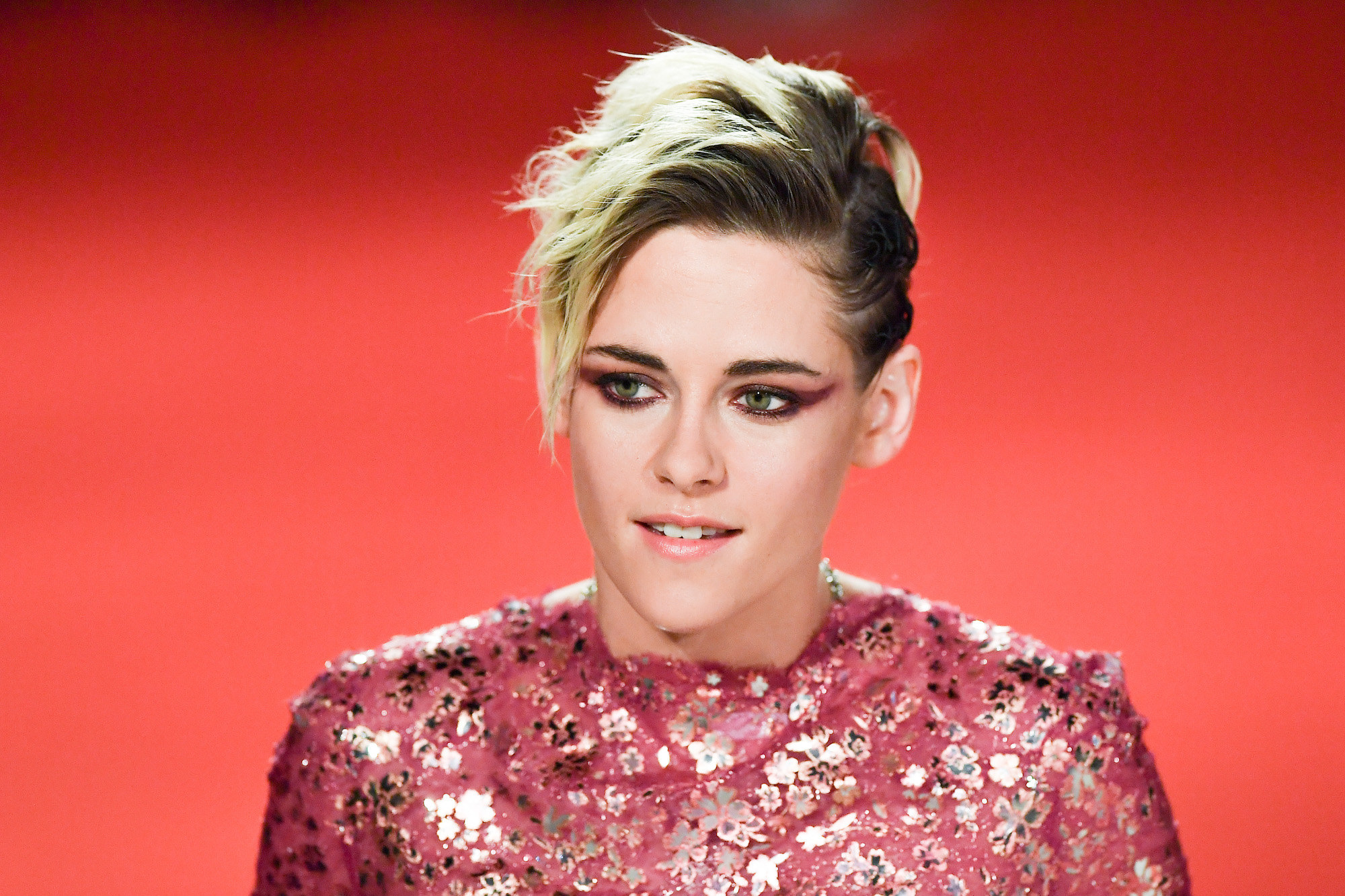 "Kristen Stewart walks the red carpet ahead of the ""Seberg"" screening"