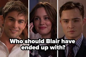 Images of Nate Blair and Chuck from Gossip Girl