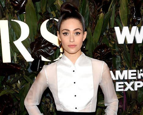 Emmy Rossum attends the 2019 WWD Honors