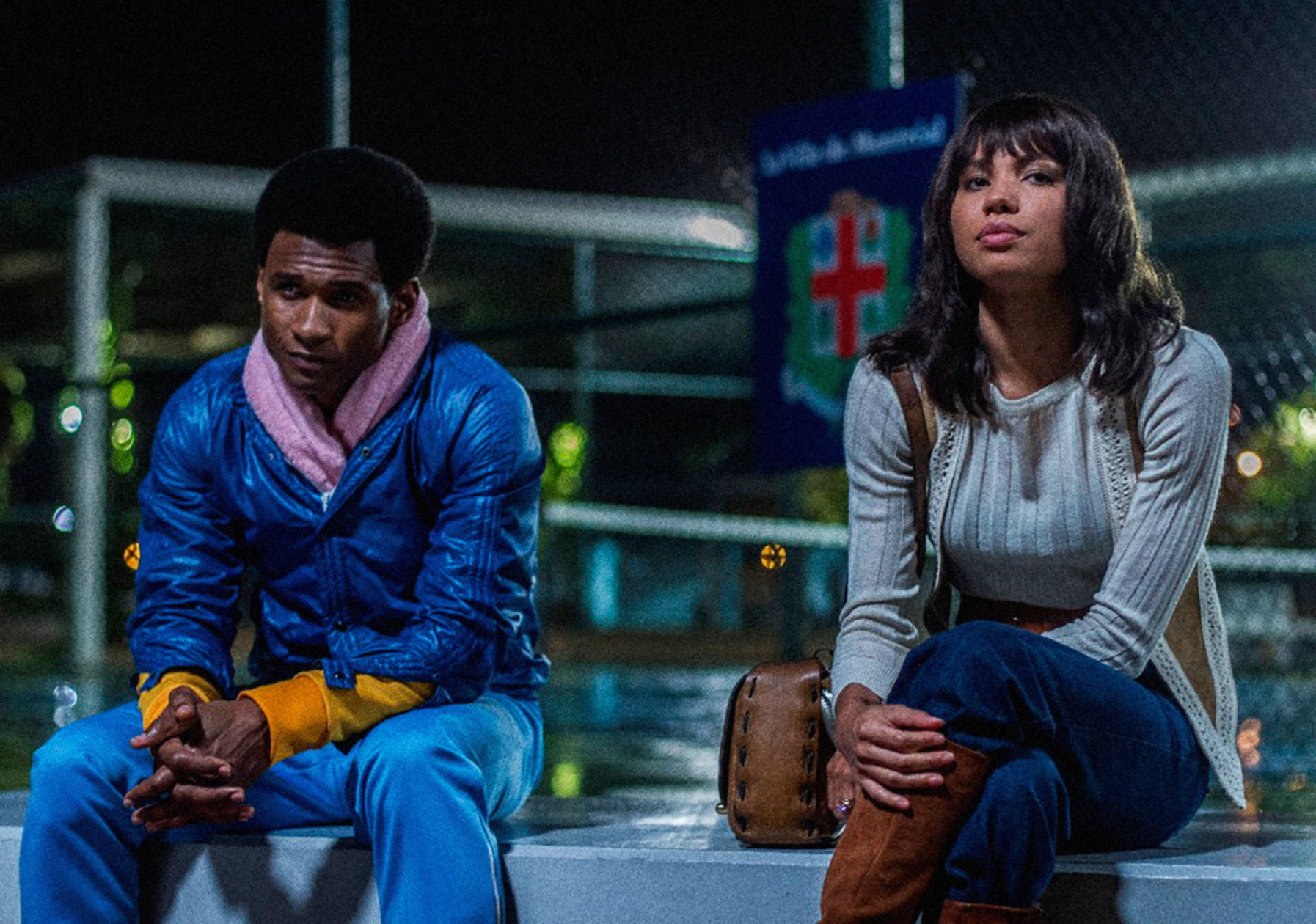 Jurnee and Usher in a scene from Hands of Stone