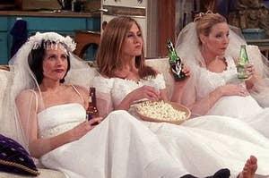 Image of Rachel Phoebe and Monica