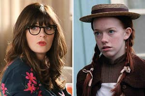 Jessica Day and Anne Shirley Cuthbert.