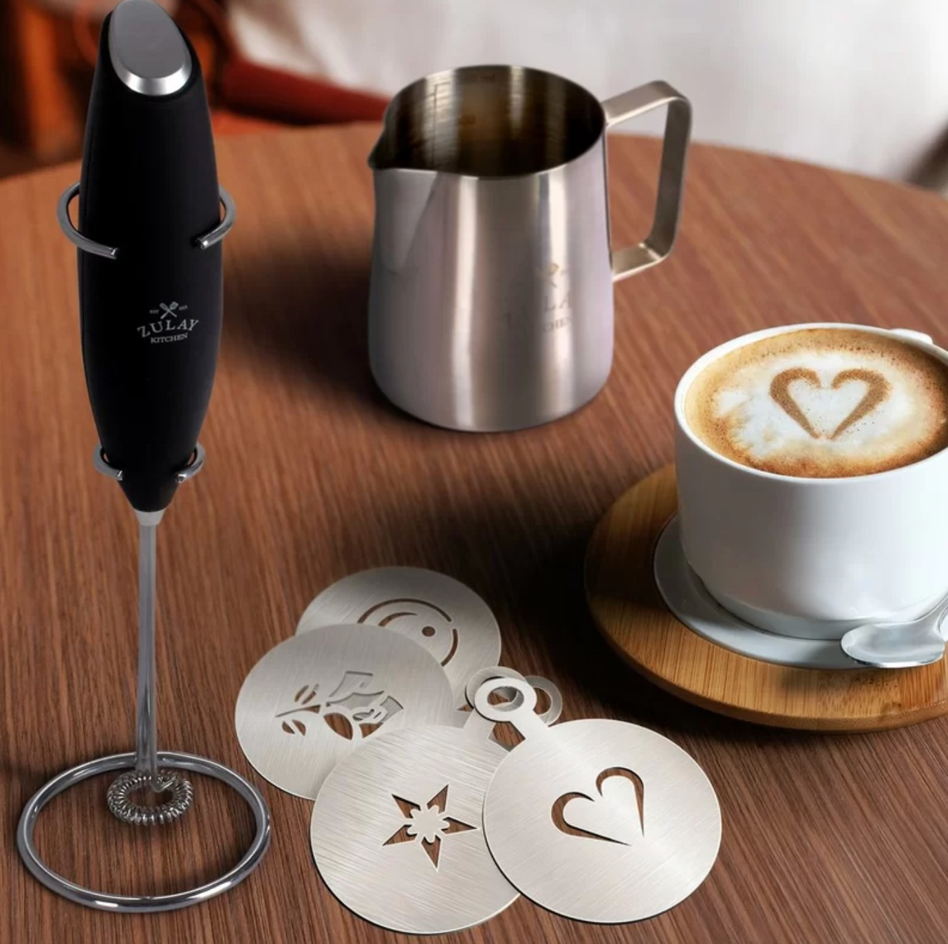 The professional handheld milk frother