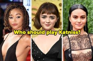 阿曼德拉·斯滕贝格,麦茜·威廉姆斯,卡米拉·门德斯和问题:谁应该扮演凯特尼斯?