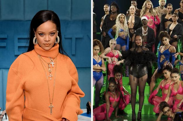 Rihanna pediu desculpas após ser criticada por utilizar uma música repugnante e desrespeitosa em seu desfile