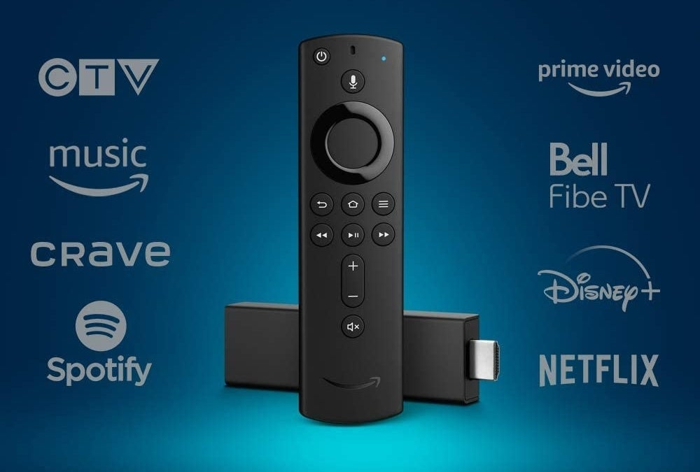 The stick with the some of the providers it works for: CTV Crave Spotify Prime Video Bell Fibe TV Disney + and Netflix