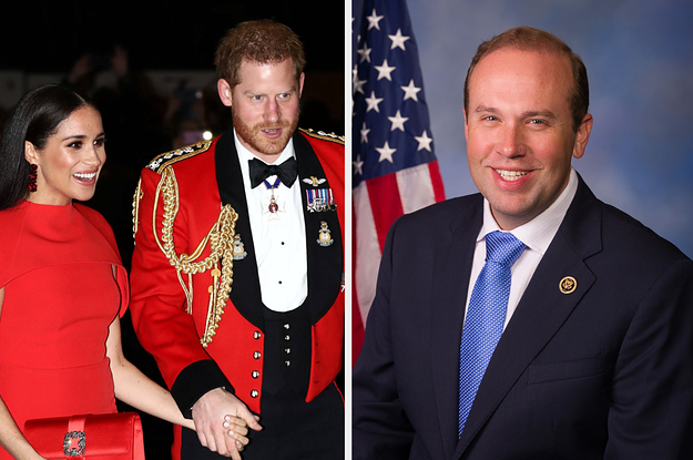 A Republican Demanded Harry And Meghan Be Stripped Of All Titles For Their Voting Video