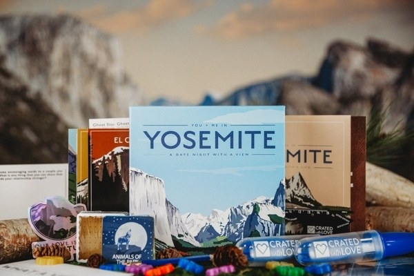 a Yosemite-themed Crated With Love box