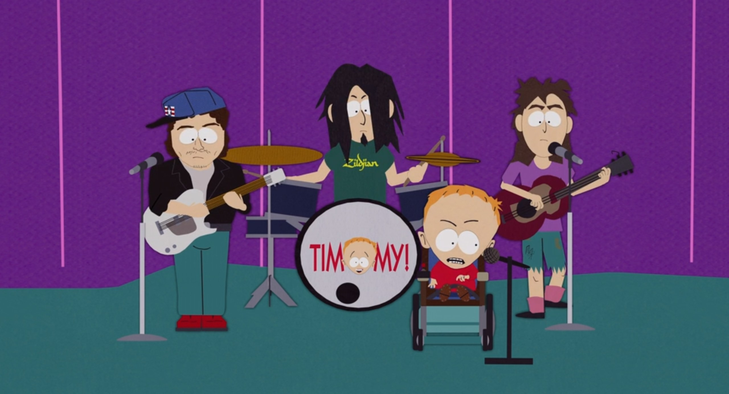 Timmy and the Lords of the Underworld perform