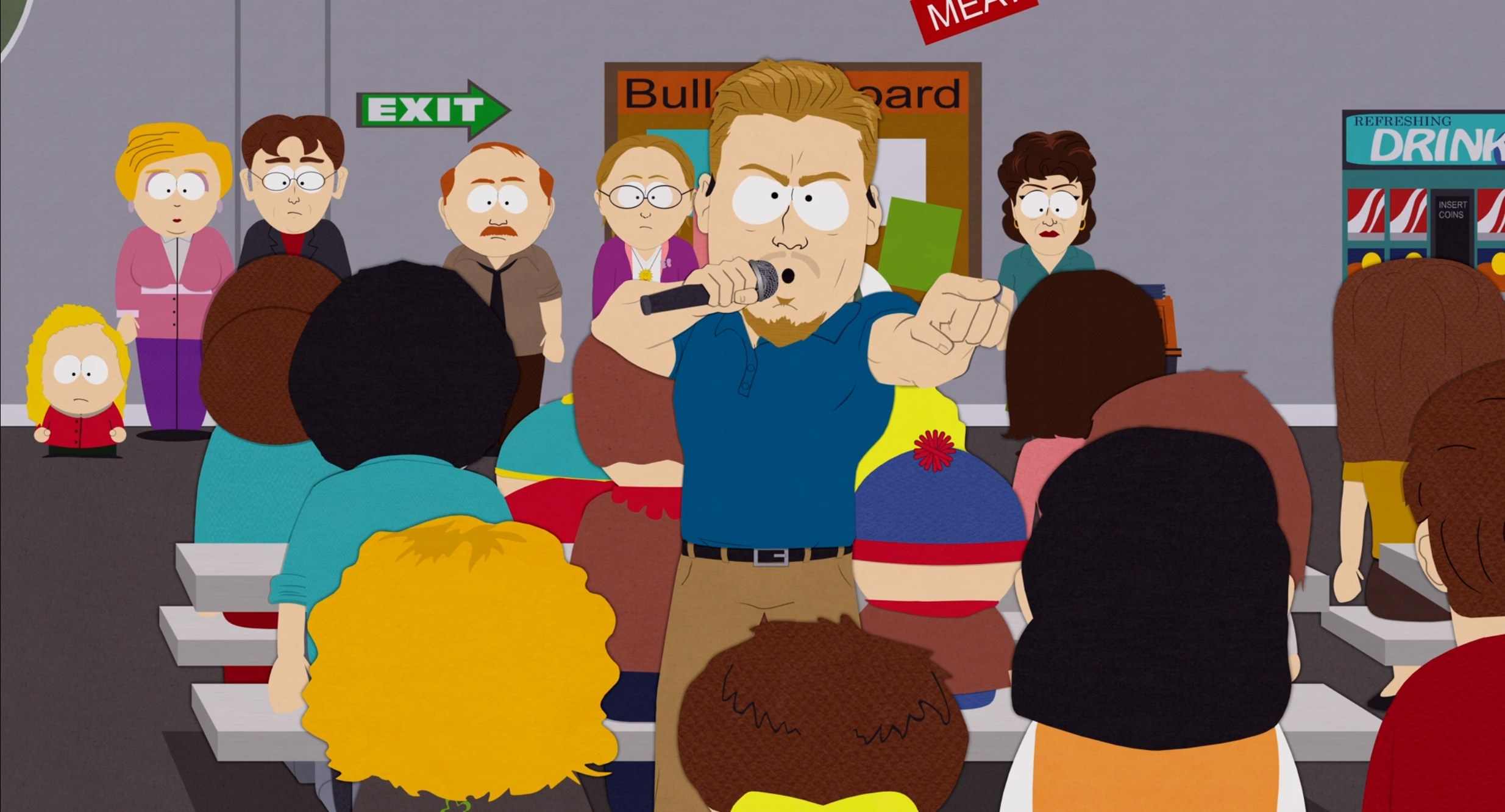 PC Principal introduces changes to South Park