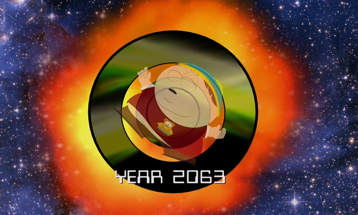 Cartman travels to the future