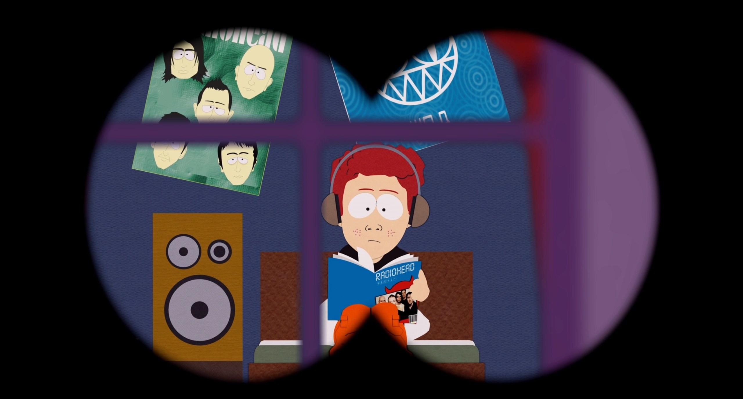 Cartman watches Scott Tenorman