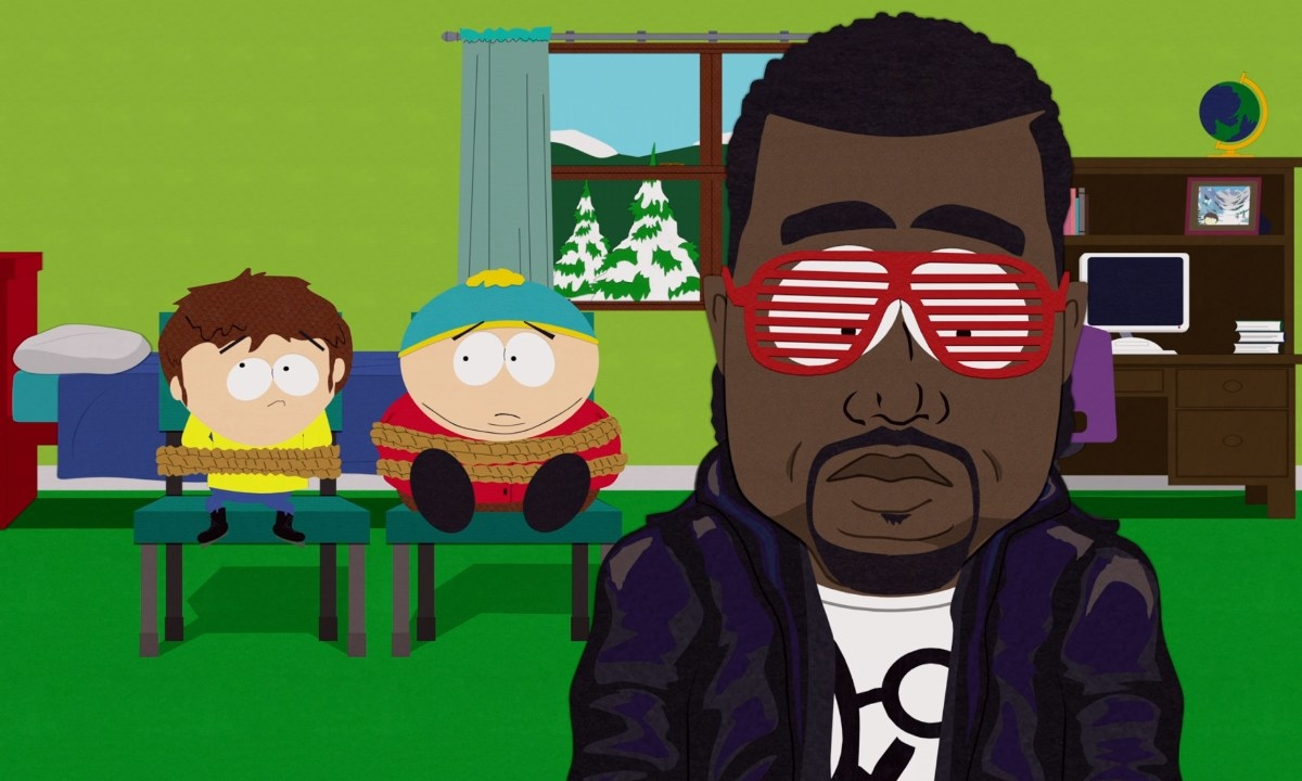 Kanye West doesn't understand why people think he is a gay fish
