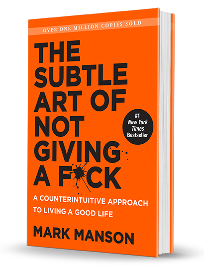 Bright orange book cover with the title in bold across the front