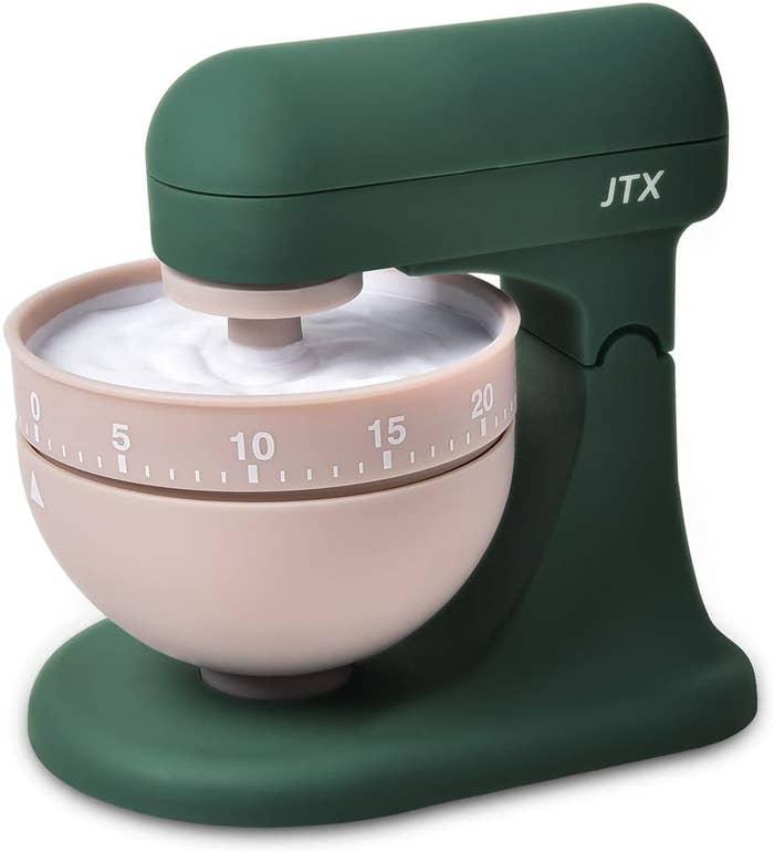 kitchen timer shaped like a standup kitchen mixer