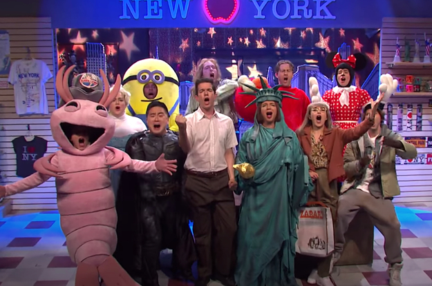 "John Mulaney's Latest Musical Sketch On ""SNL"" Compared America To Ugly, Diseased Underwear"