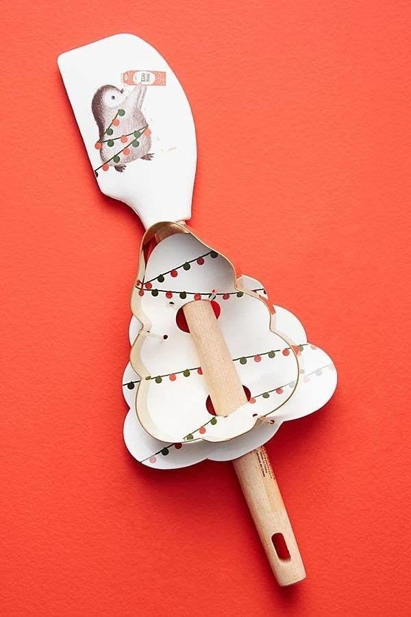the spatula, cookie cutter