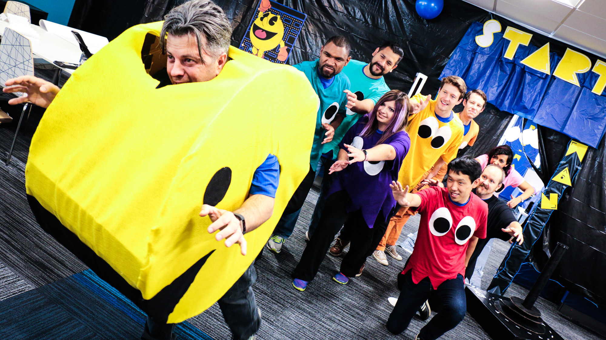 PacMan universe at the firm