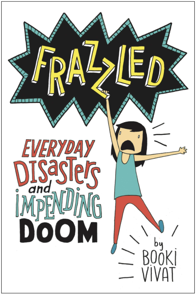 A book over featuring a frazzled tween girl