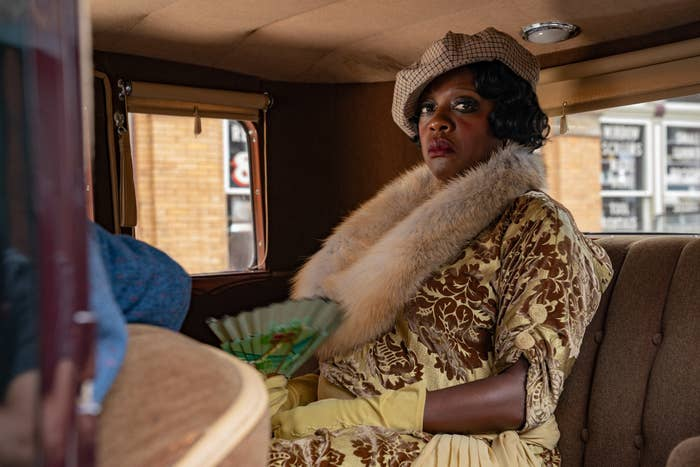 Viola Davis as Ma Rainey