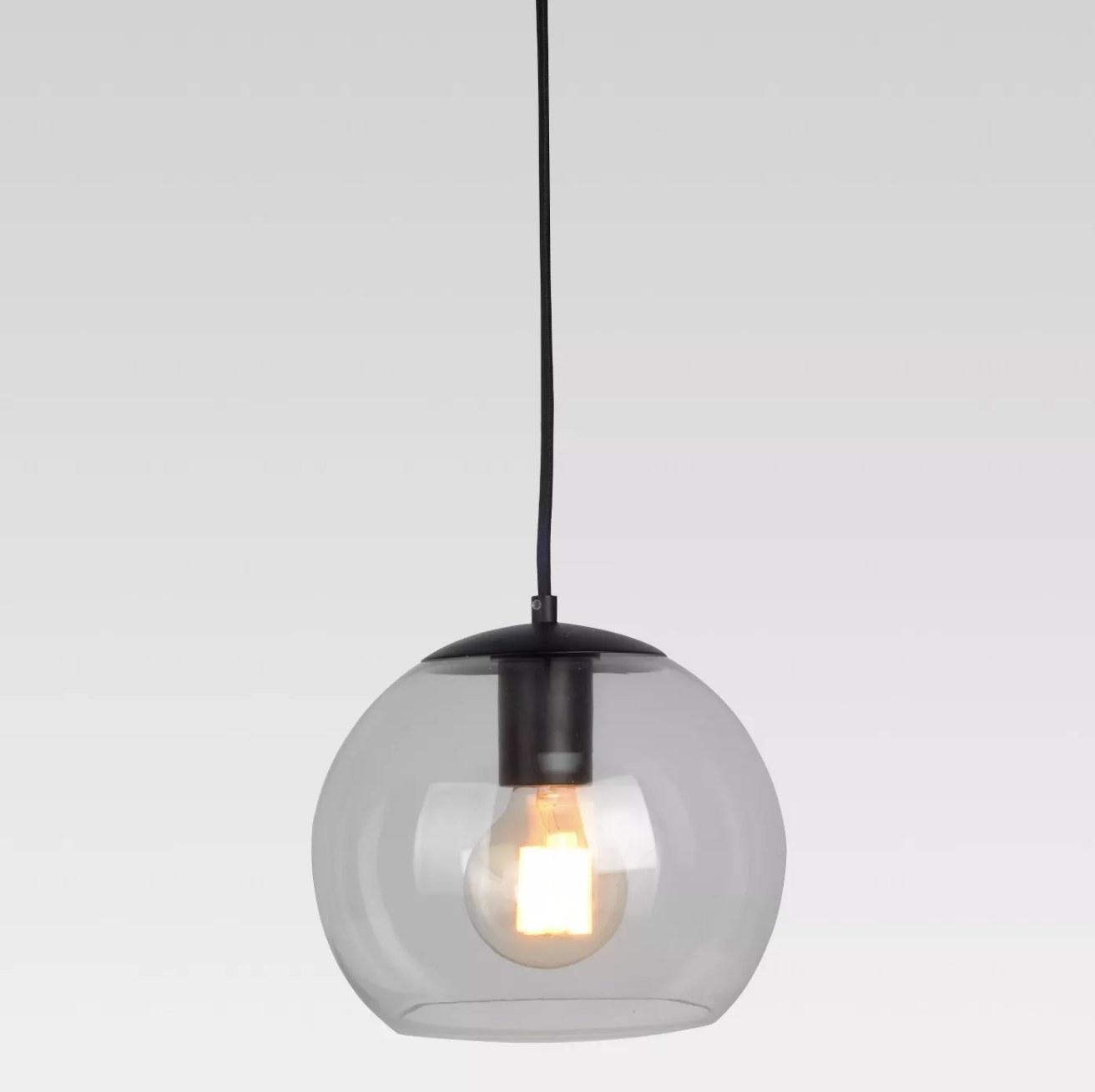 The glass globe light